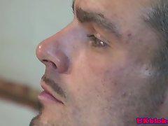 Issac Jones Muscle Pom Balls Deep Before Cumshot
