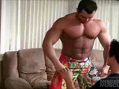 Frank Defeo and Justin Cox Muscle Service