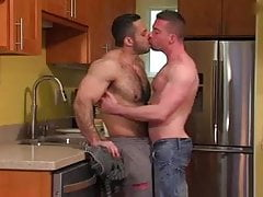 Gay Sex : Adam Champ had a thick condom sex Scott Hunter