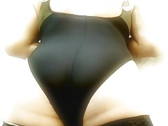 Crossdress Tanya In Black Swimsuit 2
