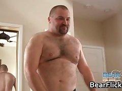 Bear gay love smoking pole and poking big assholes