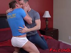 Hardcore raw plowing with dominated hunk loving the feeling