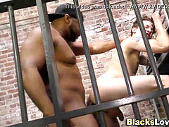 ebony cellmate drill twunk