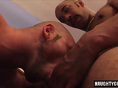 Big cock gay flip flop with cumshot