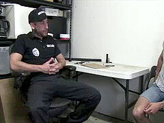 Interrogating A Convicts donk-xxx homosexual fucking