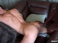massive knob gay anal sex And sperm flow