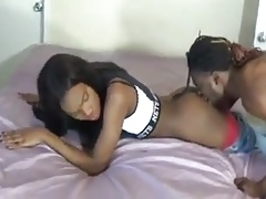 Hottest Amateur Ebony Tranny Ever Fucked