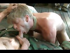Army domination and gangbang