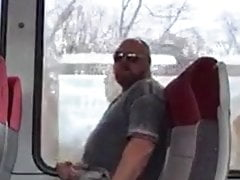 Sucking cock on train 030920