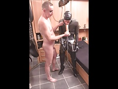 Rubber Slave in Pain