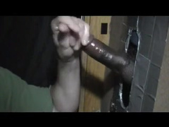 Ginormous Ebony Pecker at the glory fuckhole