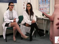 British voyeur nurses watching patient tug