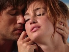 Jodi Taylor enjoys erotic foreplay & her lover's dick deep inside her cunt