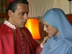 Very Hot Cardinal Nun Fucks With Cardinal
