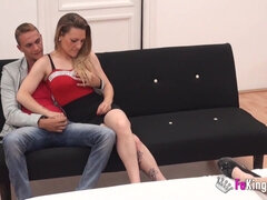 2 young real couples want to try their first foursome fuck on camera