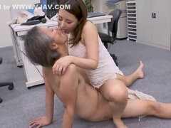 asian office girl suck and fuck her boss