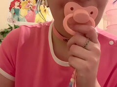 Ddlg mouth sounds (pacifier,chewing,licking) ASMR