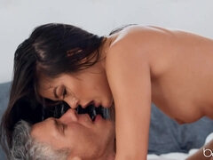 Furry chinese honey kendra humped in uncensored lovemaking flick