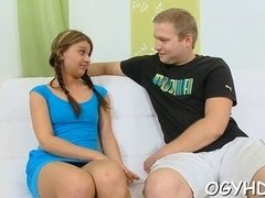 hot teen seduced by old guy clip