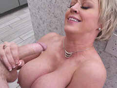 Milf Dee Williams getting stuffed on Thanksgiving