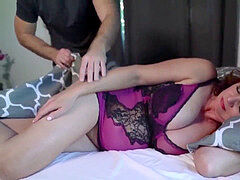 redhead Mature likes Young Dick-Fuck Horny wife