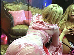 Alexis Texas and Shyla Stylez in abnormal, Masked firm bang-out