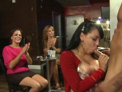 Several women facialized during private party with strippers