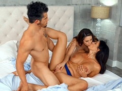 Reagan Foxx, Rayna Rose and Bambino in hot threesome