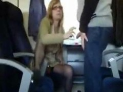 Public Sex in the train with bigtitted mom i`d like to fuck