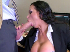Horny guy fucked his busty lawyer