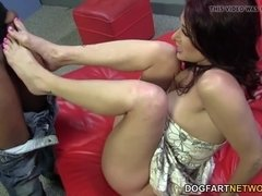 Tiffany Mynx Foot Fetish with BBC