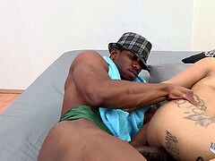 We foiund the ebony boy from Whatsapp!! KMs of fuckpole for Kiara Strong