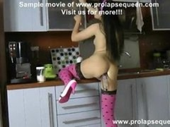 prolapse pump in the kitchen video