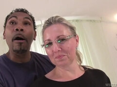 Czech mature gets her first BBC - interracial hardcore with cumshot