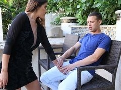 Hot Mom Alexa Vega Takes a Massive Load
