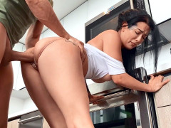 Katrina Jade gets her pussy pounded standing