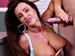 Sexy Mommy Fucked On Desk - Lisa Ann
