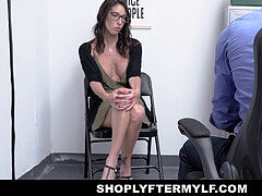 ShopLyfterMYLF - huge-titted mummy Caught Stealing Gets A internal cumshot