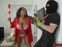 Black housewife and hung thief