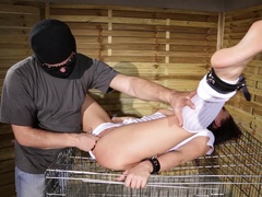 Caged & Crammed: Fetish XXX Humiliation in The Basement!