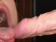 Firm-bodied hotties ride thick throbbing fuck tools