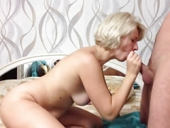 First-class home fuck with Ukrainaian wife