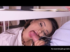 Hottie Secretary Blowjobs In The Office