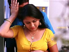 Hot maid mamatha romance with owners stepson