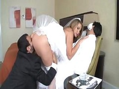 Alanah Rae is a hot bride who gets a big penis for her pleasure