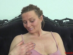 Suzy in the 7th month - interracial preggo sex