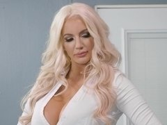 Magnificent Nicolette Shea shows off her fucking skills