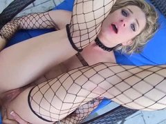 Dahlia Sky gets her tight asshole pounded hard pov style