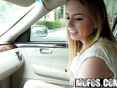 Mofos - Stranded Teens - Natural Teen Fucks for a Ride starr