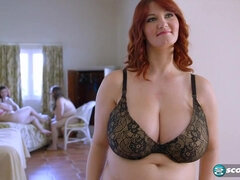 Mils hairy pussy - redhead